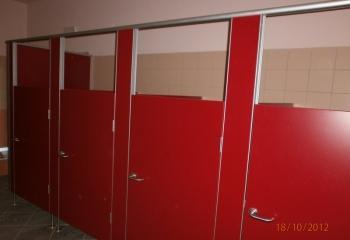 Realizacje - Kabiny sanitarne do przedszkoli