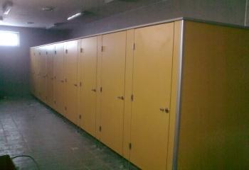 szafki żółte hpl